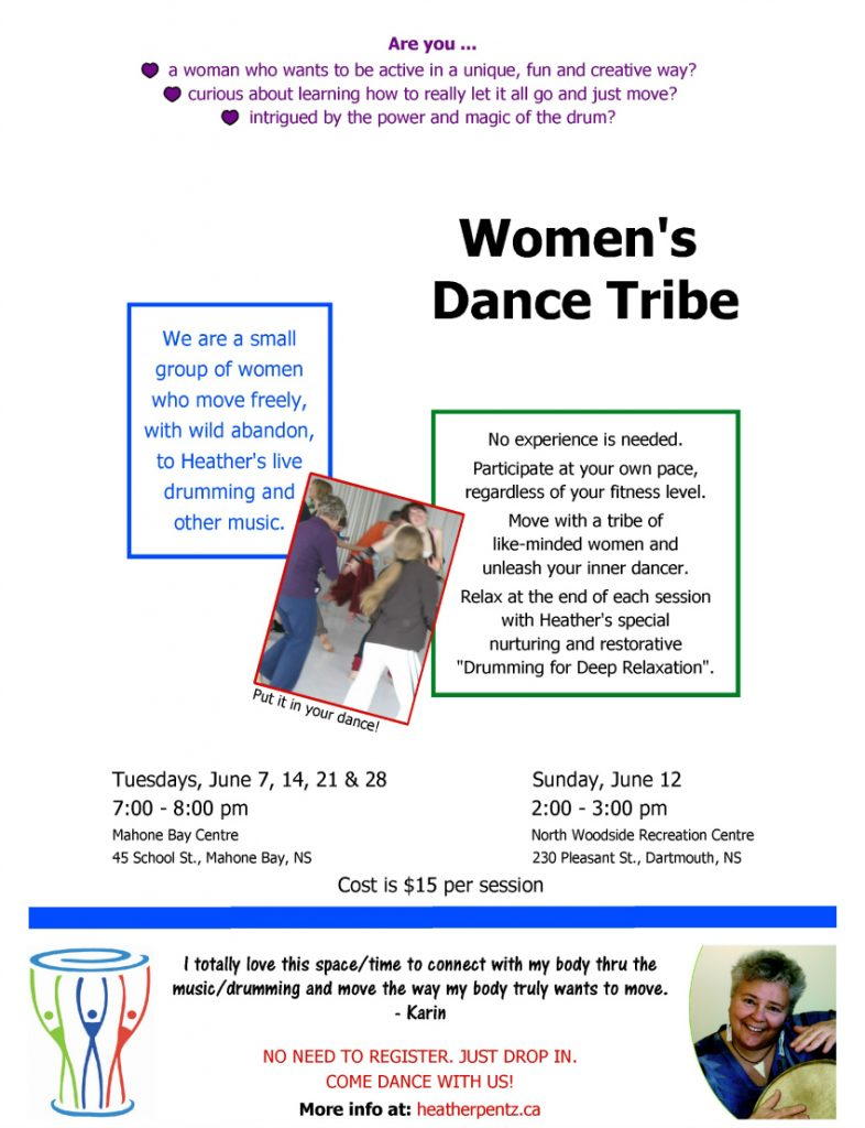 Women's Dance Tribe-9A